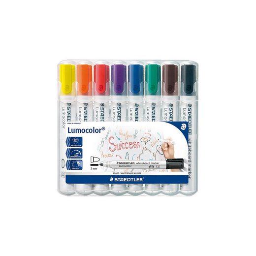 STAEDTLER Lumocolor Whiteboard Marker 2 mm, 8 Farben