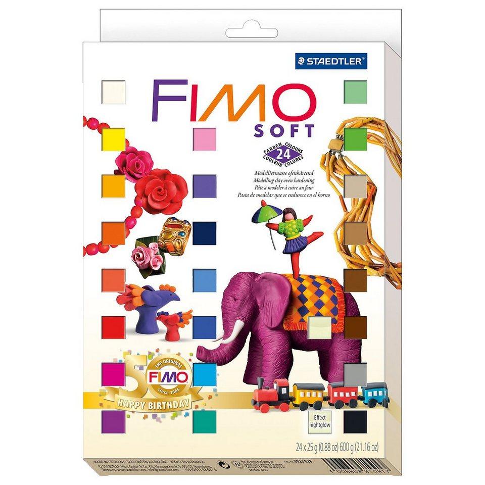 FIMO soft Limited Edition Retro Design, 24 x 25 g