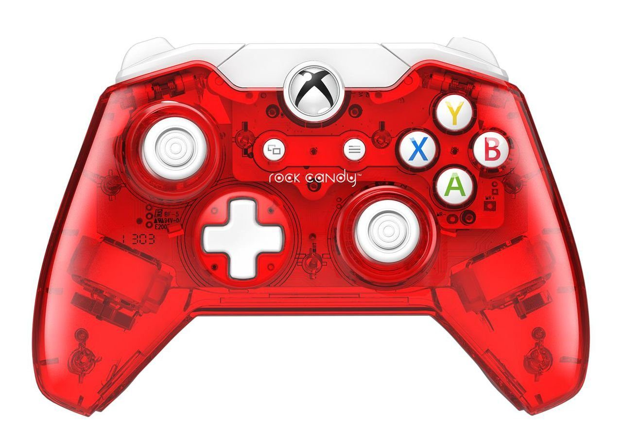 PDP XBOX One - Zubehör »Xbox One Controller Rock Candy - rot«