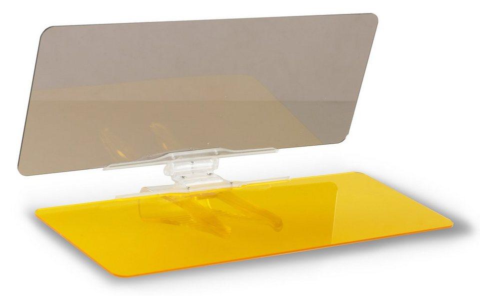 VizClear© Auto Schutzblenden, »VizClear HD® Visor« in gelb/grau