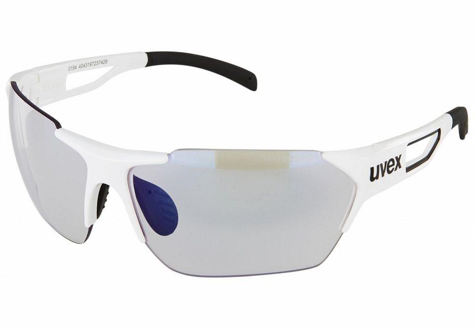 Uvex Radsportbrille »sportstyle 202 race vario« in weiß
