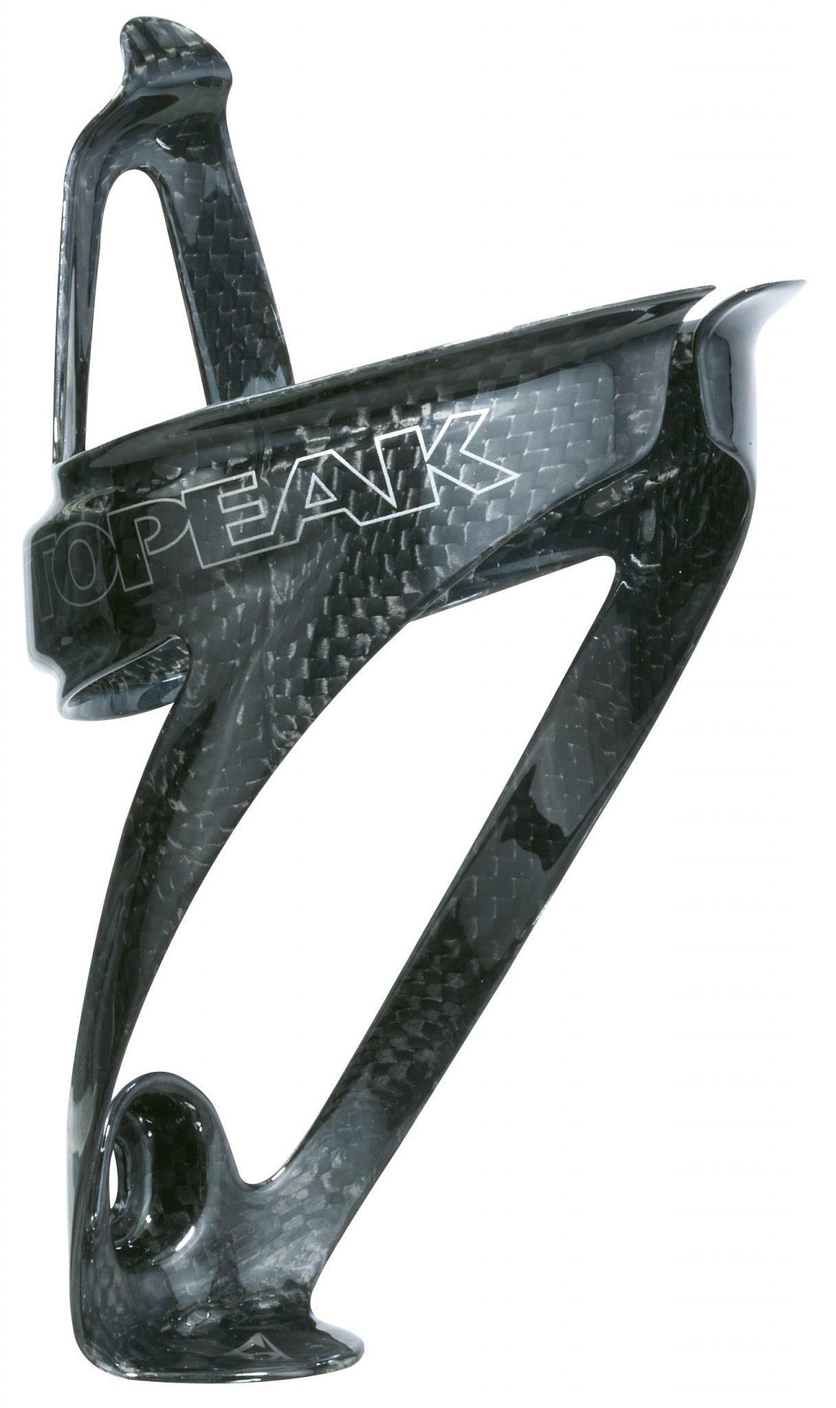 Topeak Trinkflaschenhalter »Shuttle Cage Carbon Flaschenhalter silver color«