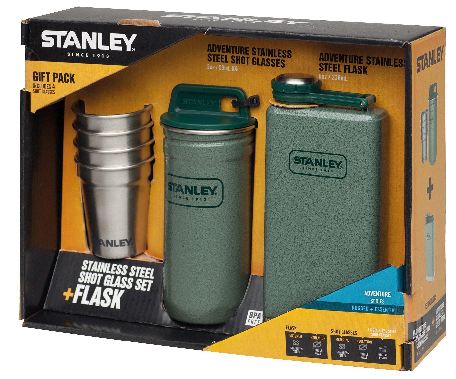 Stanley Trinkflasche »Adventure Steel Spririts Geschenk-Set«