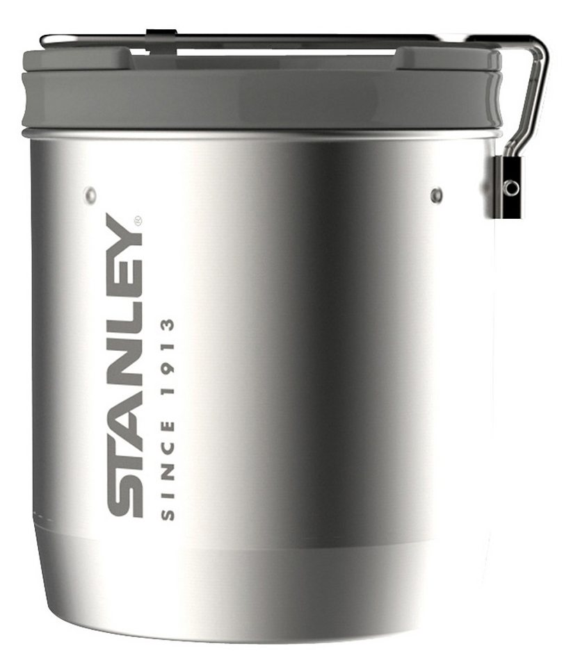 Stanley Camping-Geschirr »Mountain Compact Koch-Set« in silber