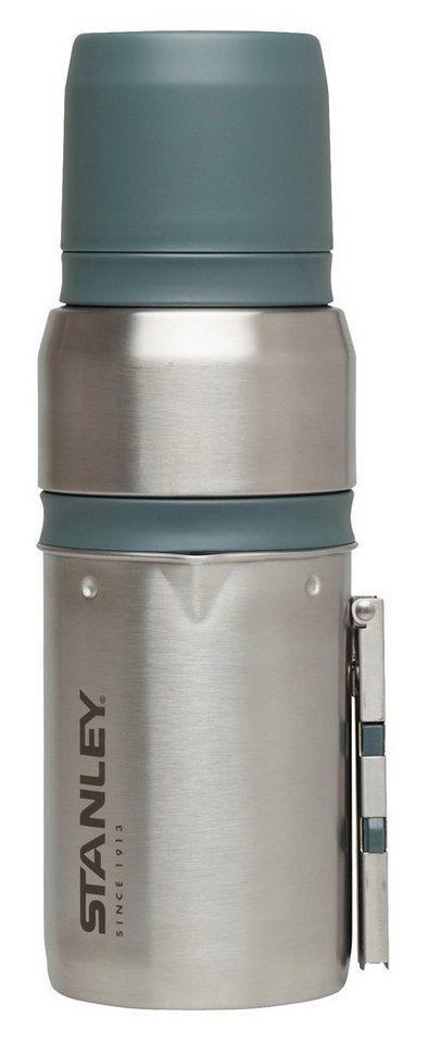 Stanley Trinkgefäß »Mountain Vakuum Coffee-System 500ml« in silber