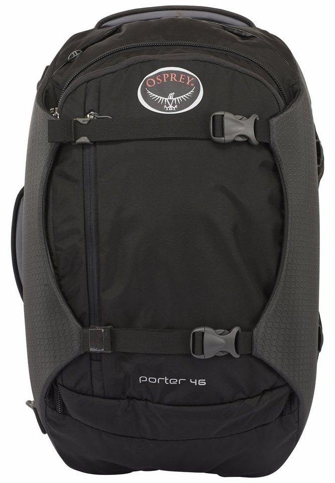 Osprey Sport- und Freizeittasche »Porter 46 Backpack« in schwarz