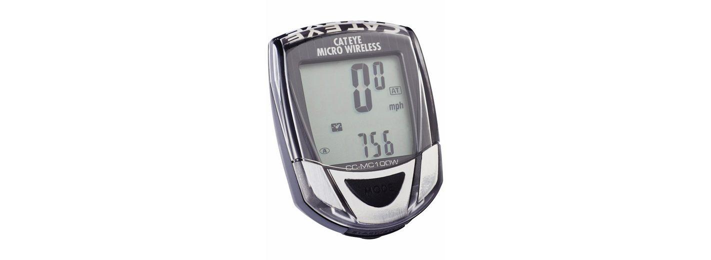 CatEye Fahrradcomputer »Micro Wireless CC-MC 100W schwarz/grau«
