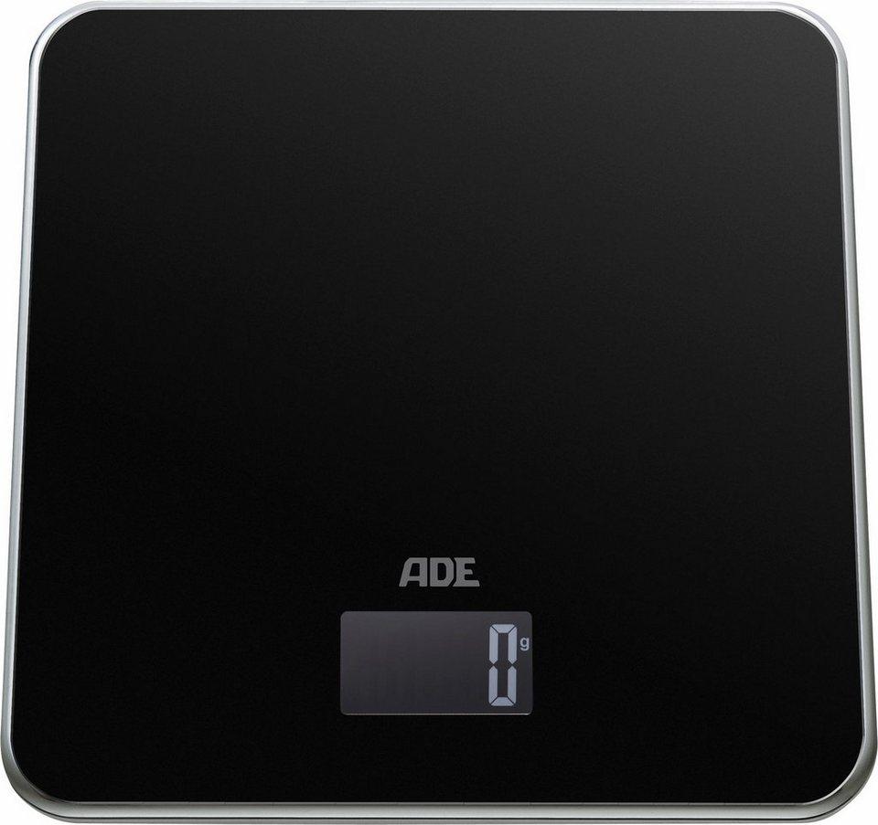 ADE Digitale Küchenwaage »KE1302 Lola« in schwarz/silber
