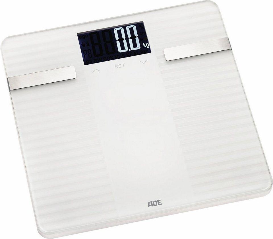 ADE Körperanalysewaage »BA1500 Linda« in weiß
