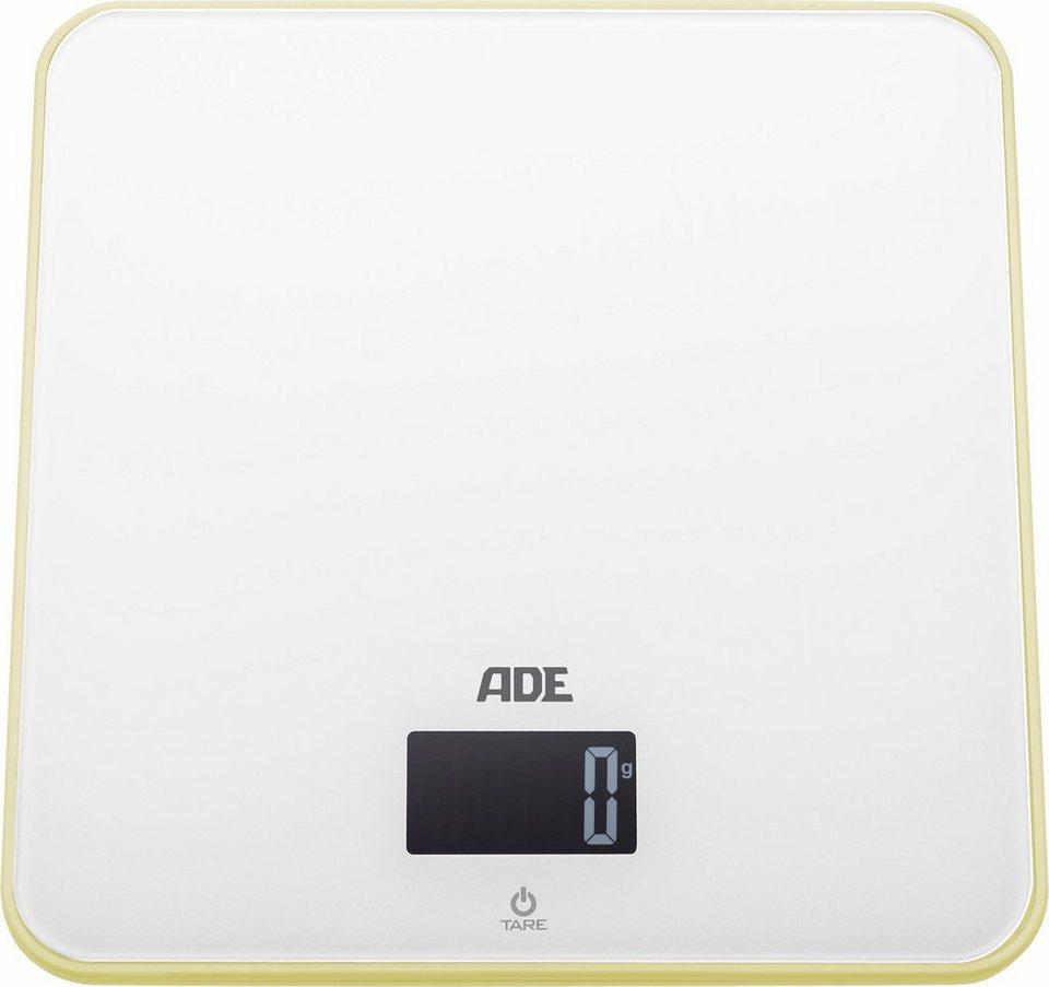 ADE Digitale Küchenwaage »KE1301 Lola« in weiß/vanille