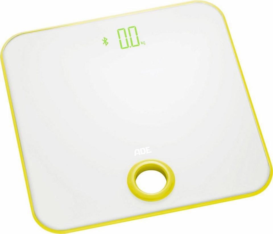 ADE Digitale Personenwaage »BE1512 adeVital Analysis« in weiß/zitrone