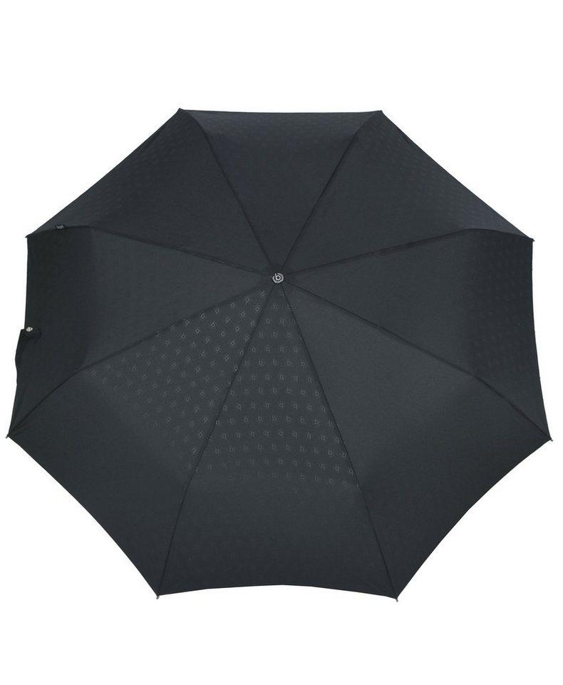 Bugatti Regenschirm, »Taschenschirm GRAN TURISMO HEAT STAMP« in schwarz