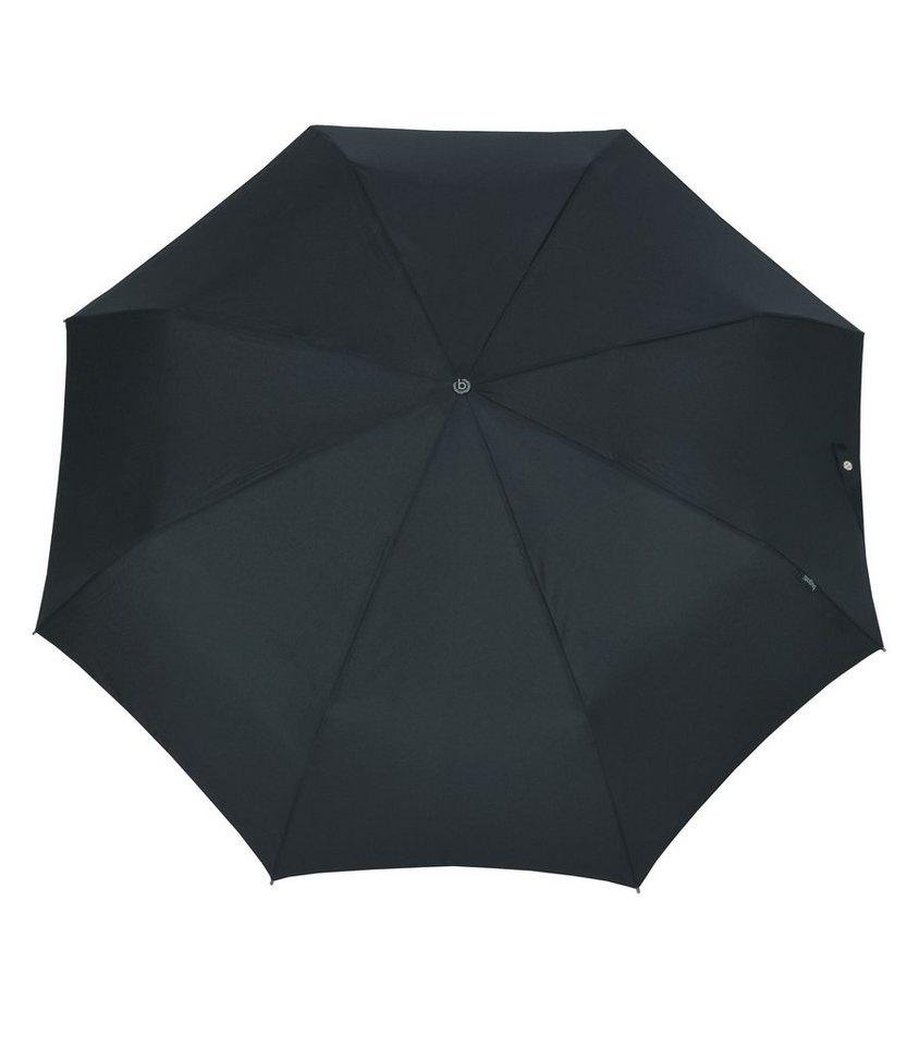 Bugatti Regenschirm, »Taschenschirm GRAN TURISMO« in schwarz uni