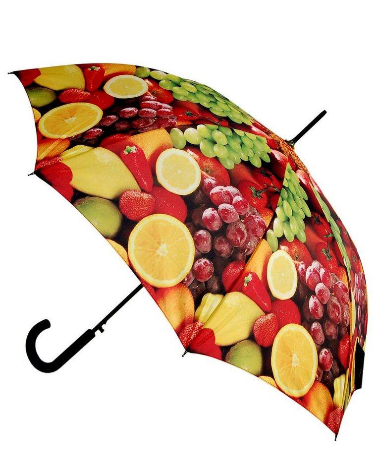 Doppler Regenschirm, Langschirm »Früchtetraum« in bunt