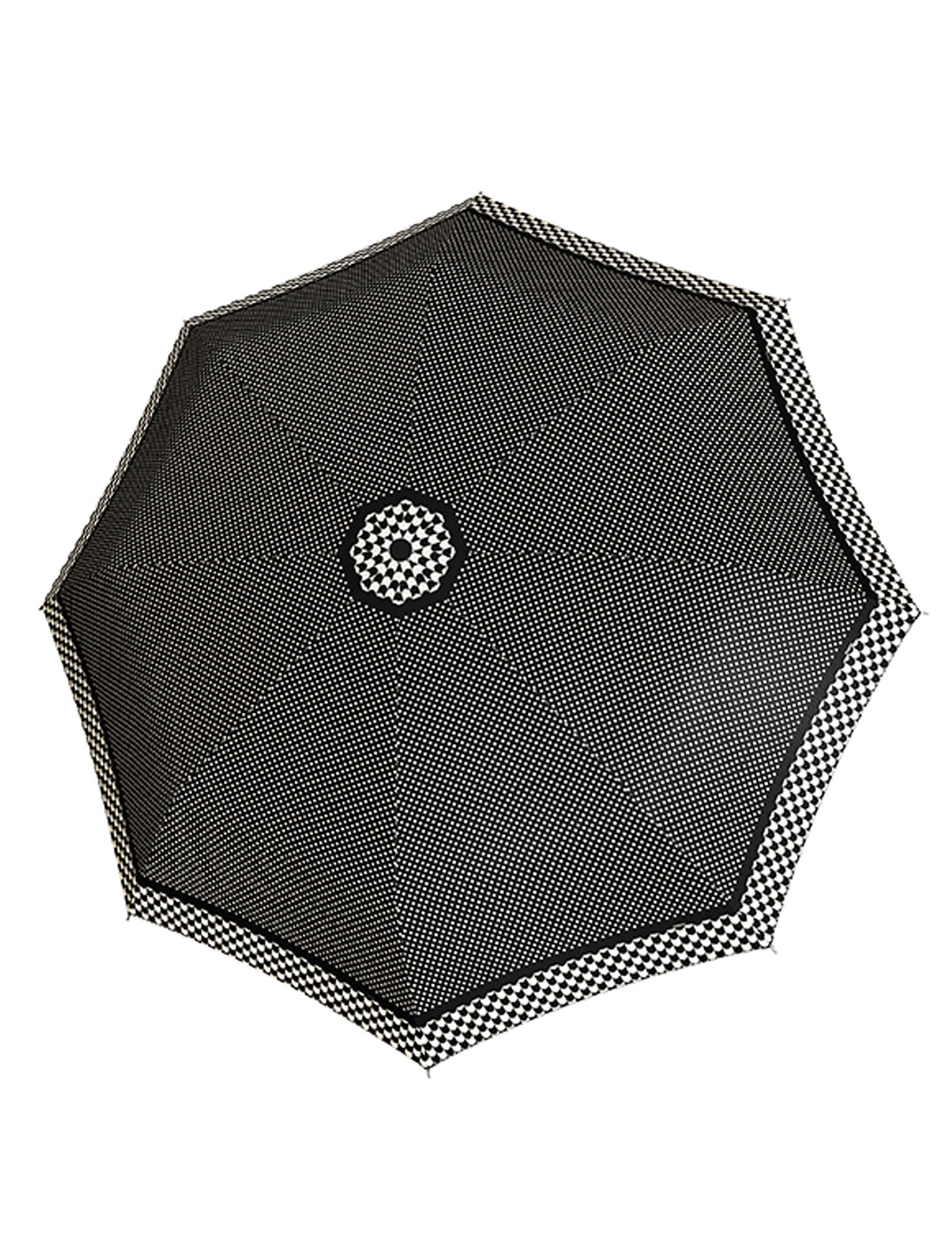 Doppler Regenschirm mit Pepitamuster, Taschenschirm »Magic Carbonsteel - Imperial«