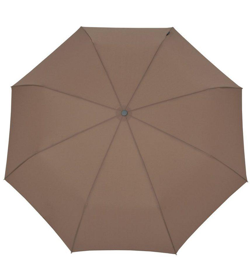 Bugatti Regenschirm, »Taschenschirm TAKE IT« in camel