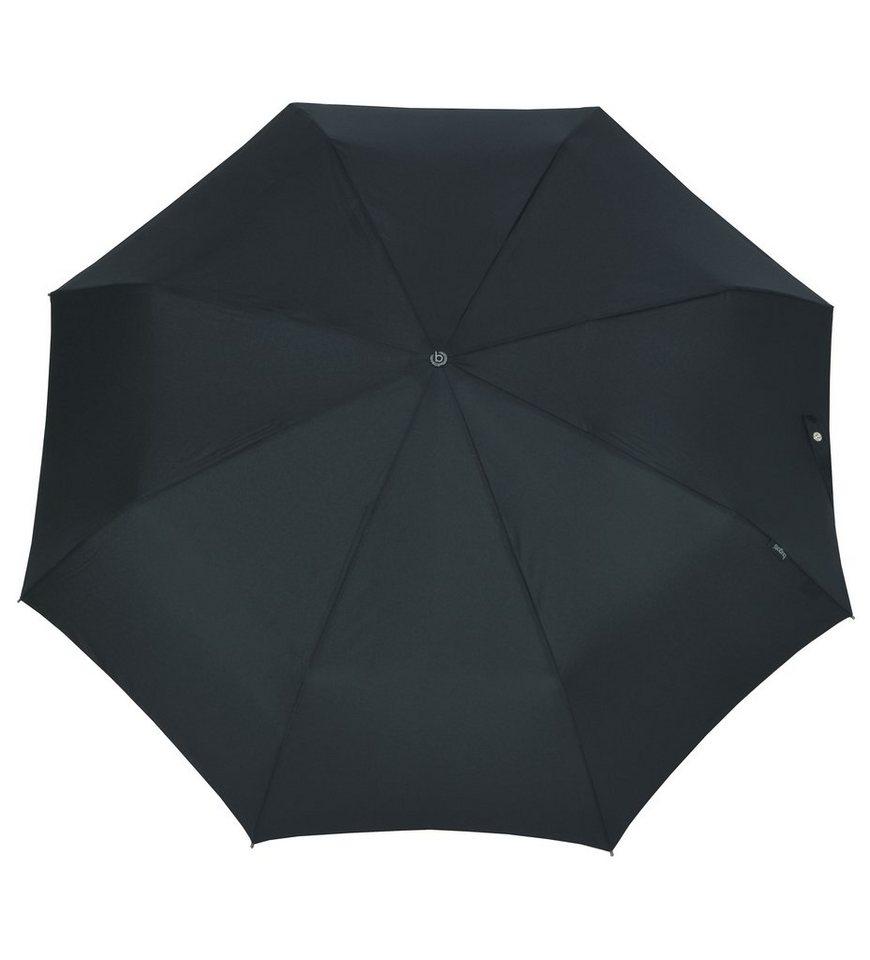 Bugatti Regenschirm, »Taschenschirm TAKE IT« in schwarz