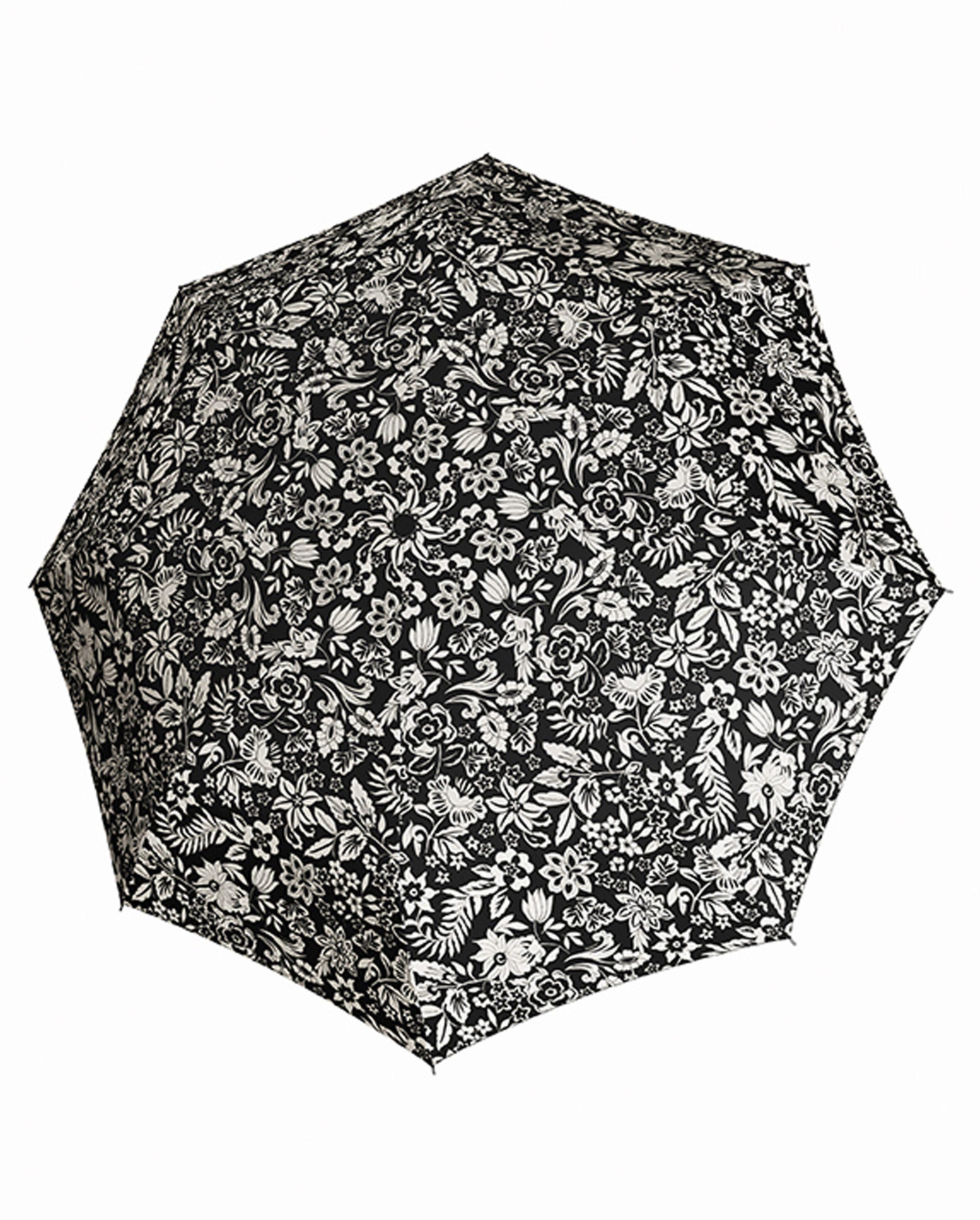 Doppler Regenschirm mit Blumenmuster, Taschenschirm »Magic Carbonsteel - Imperial«