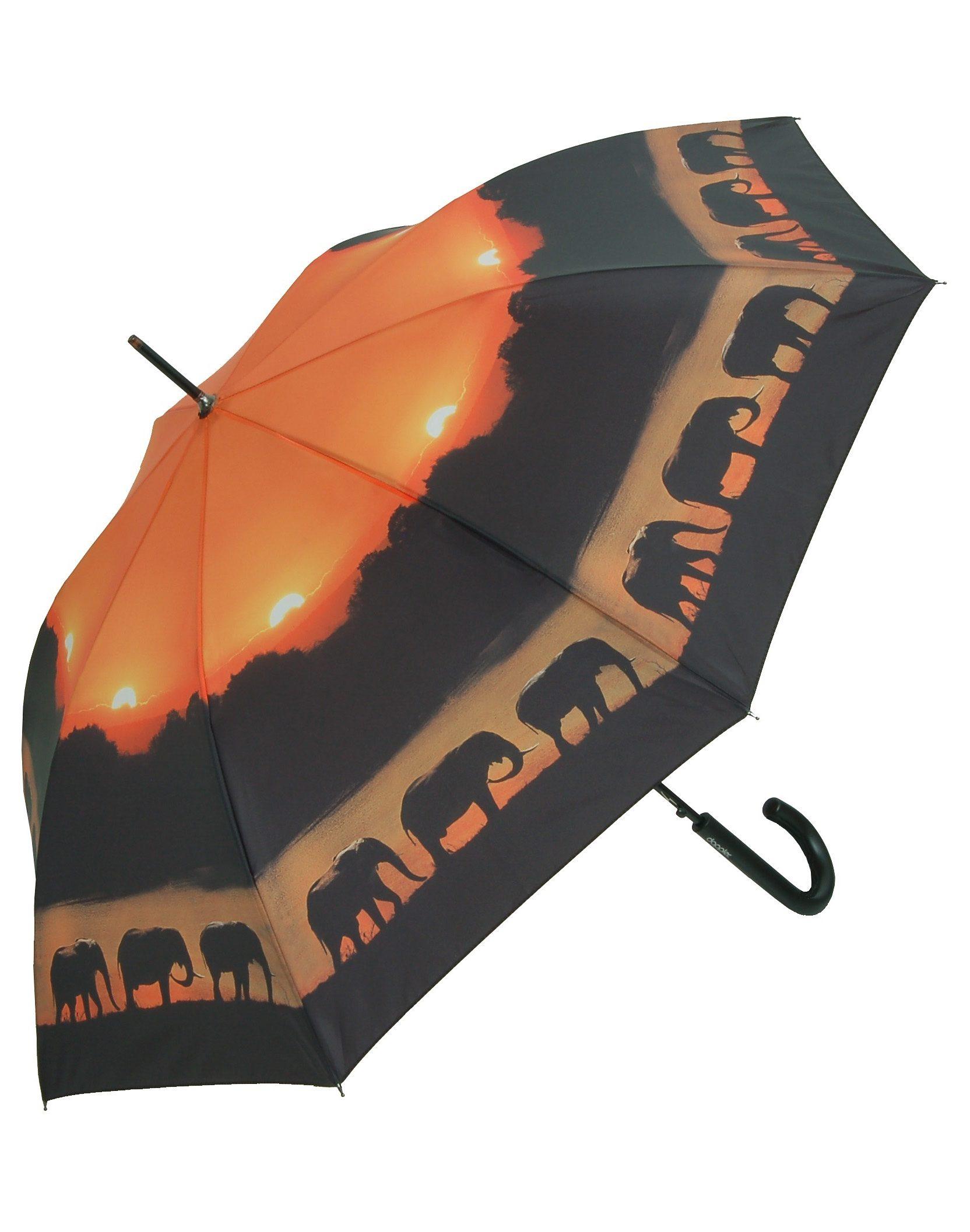 Doppler Regenschirm, »Langschirm Elefant«