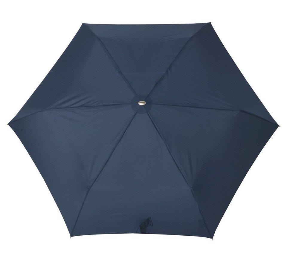 Doppler Regenschirm, »Taschenschirm Mini Slim« in marine