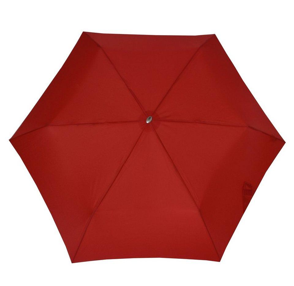 Doppler Regenschirm, »Taschenschirm Mini Slim« in rot
