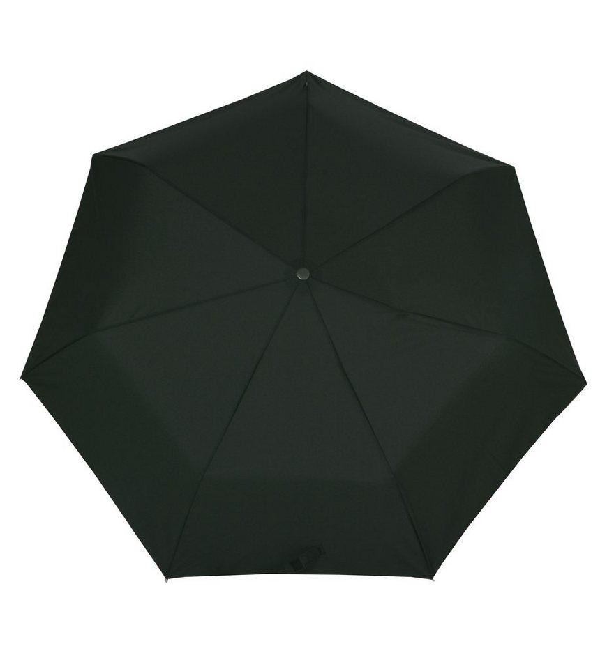 Bugatti Regenschirm, »Taschenschirm TAKE IT Duo« in schwarz