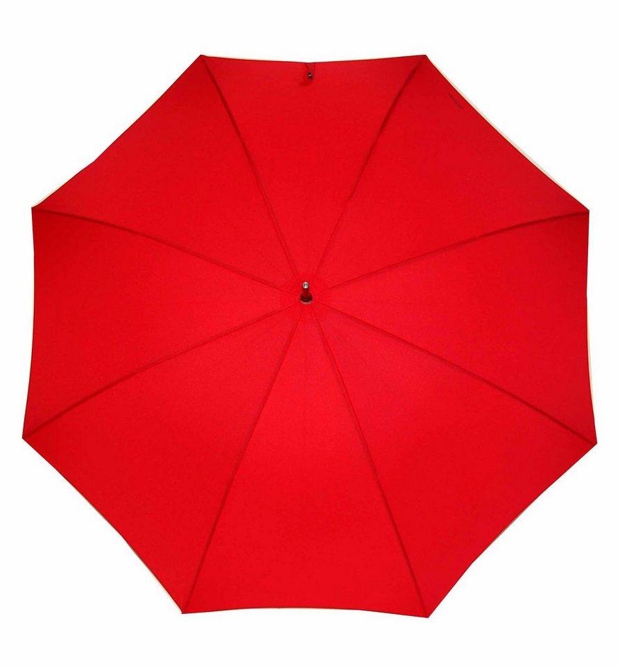 Regenschirme - s.Oliver Stockregenschirm »City AC, rot« ›  - Onlineshop OTTO