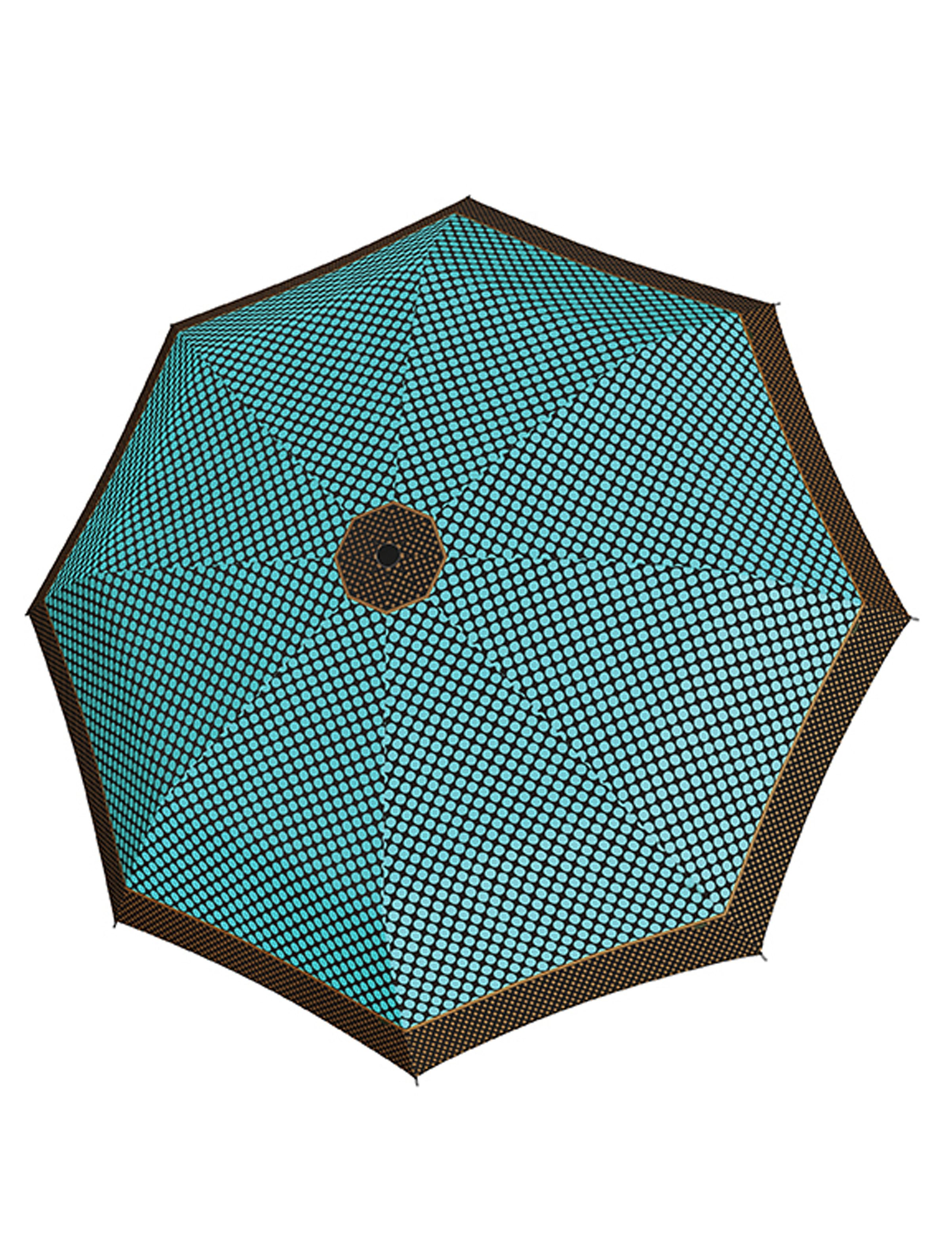 doppler® Regenschirm, Taschenschirm grün »Magic Carbonsteel Sparkling«