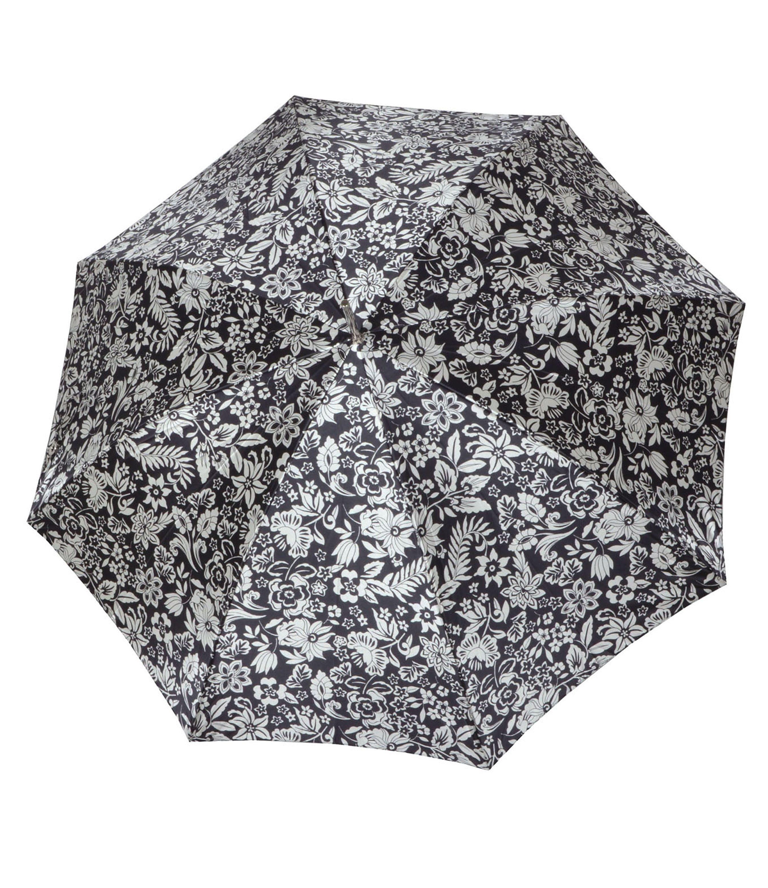 Doppler Regenschirm mit Blumenmuster, Langschirm »Carbonsteel Imperial«