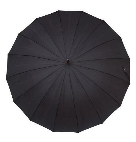 Doppler Regenschirm, »Langschirm London« in schwarz