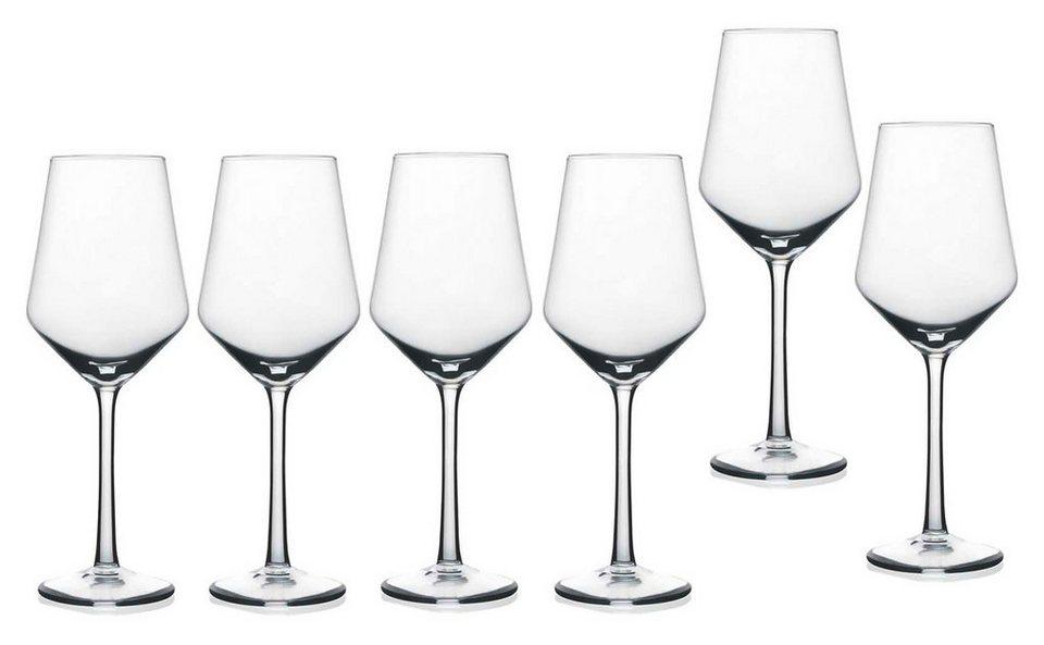 Rastal Weißweinkelche 6-teilig, »HARMONY« in klar