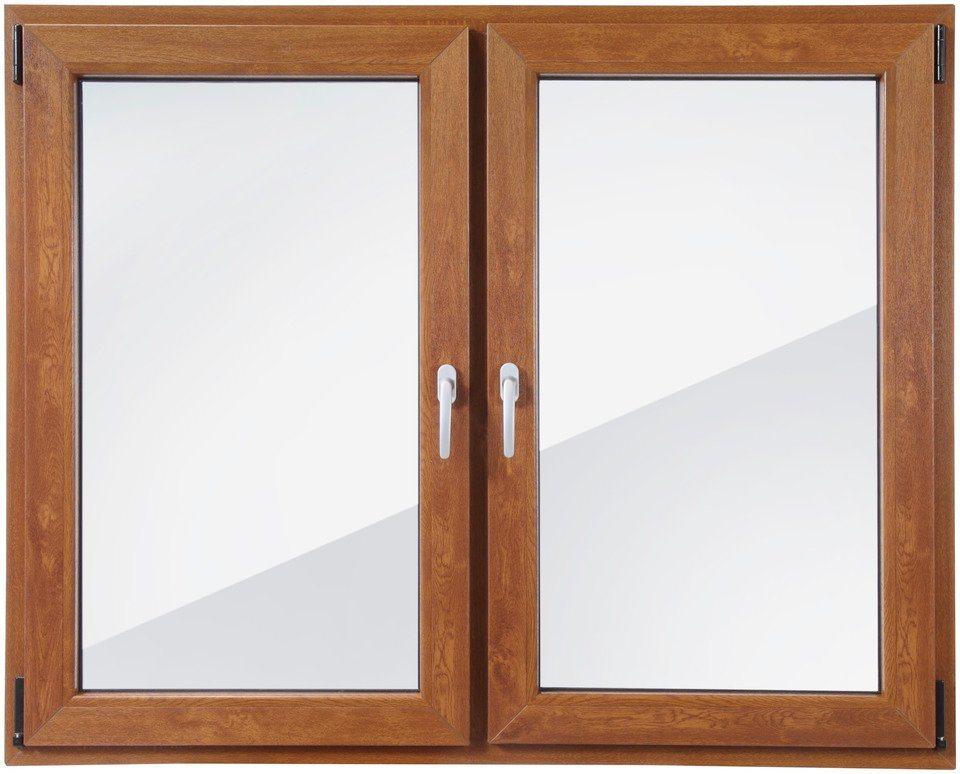 roro kunststoff fenster classic 420 bxh 150x120 cm eichefarben dunkel zweifl gelig online. Black Bedroom Furniture Sets. Home Design Ideas