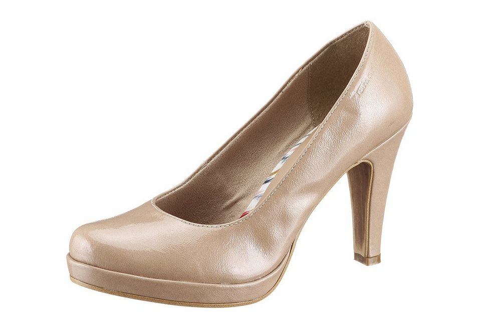 Tamaris High Heel Pumps in nudefarben
