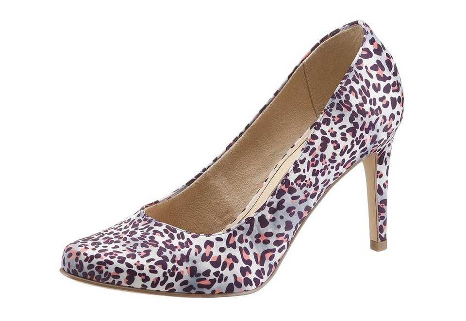 Tamaris Pumps im Animal-Look in multi
