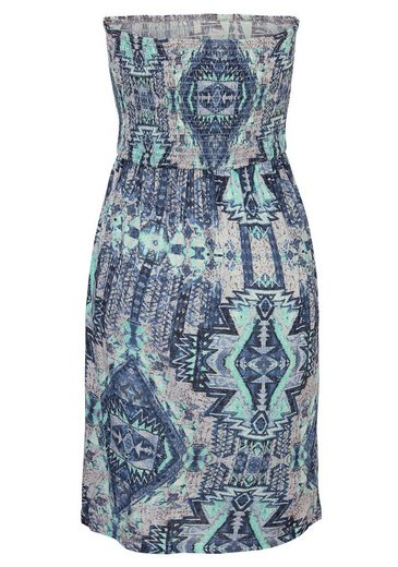 Buffalo London Bandeaukleid mit Aztekenmuster