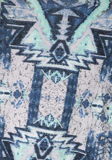 Buffalo London Maxikleid mit Aztekenmuster
