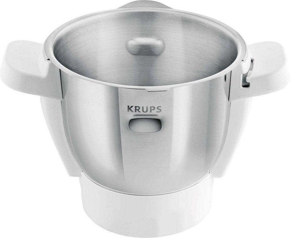 Krups Ersatzschüssel für Prep&Cook HP5031 in Edelstahl-Weiß