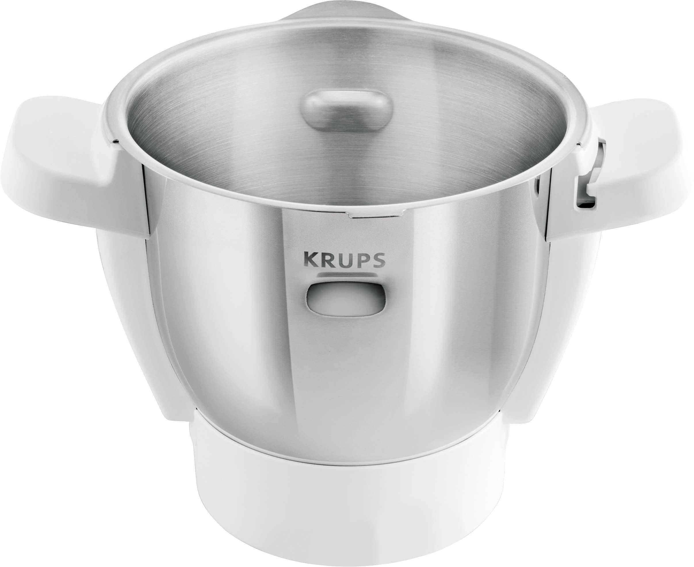 Krups Zubehör: Edelstahlschüssel für Küchenmaschine Prep&Cook HP5031