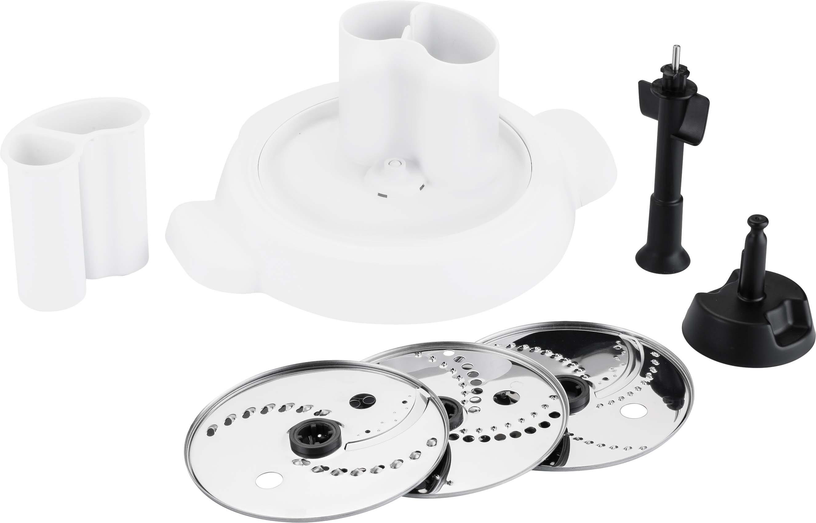 Krups Zubehör: Shred & Slice Schnitzelwerk XF551D für Küchenmaschine Prep & Cook HP5031
