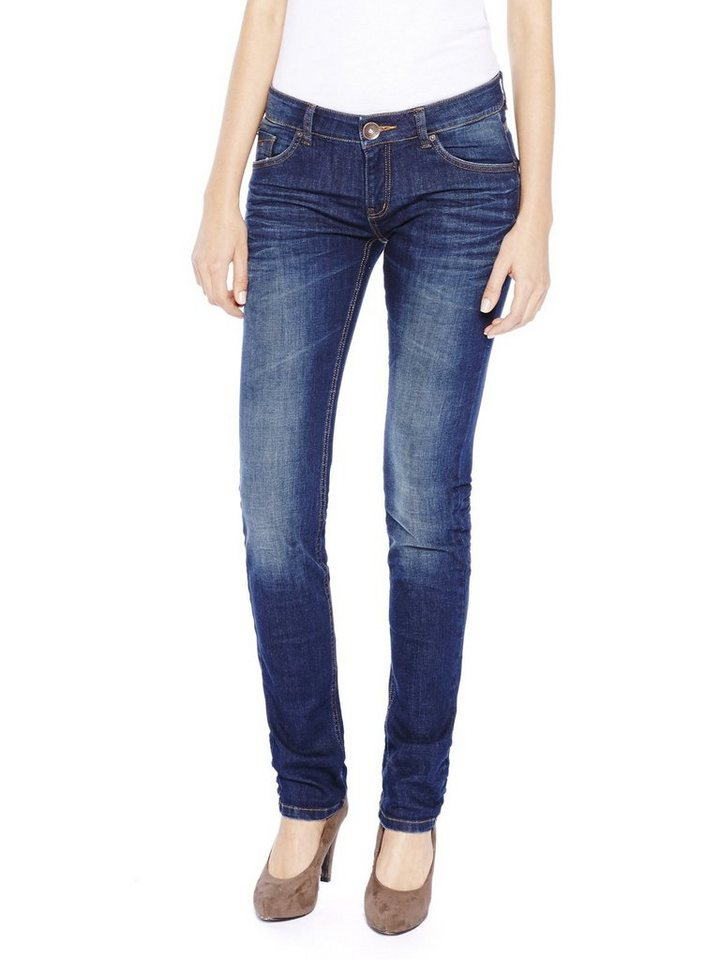 COLORADO DENIM Jeans »C956 SKINNY Damen Jeans« in aqua mid blue