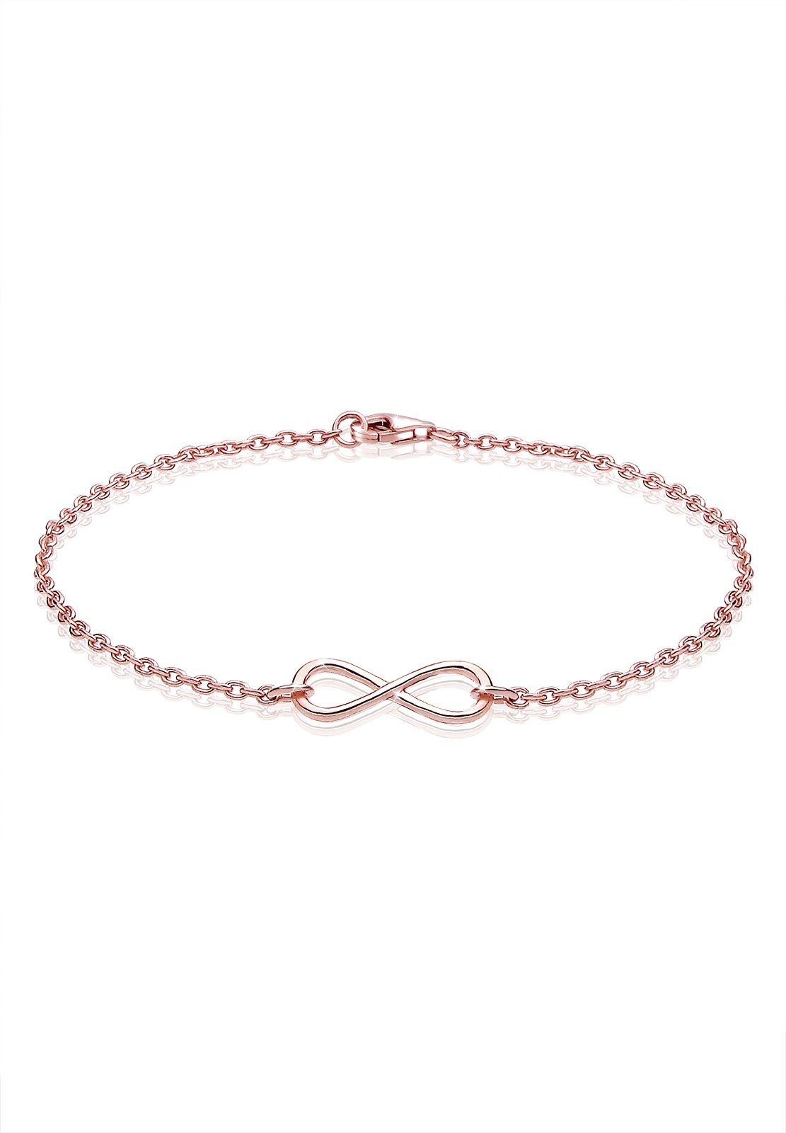 Elli Infinity, Unendlichkeit, Liebe, rosé, vergoldet