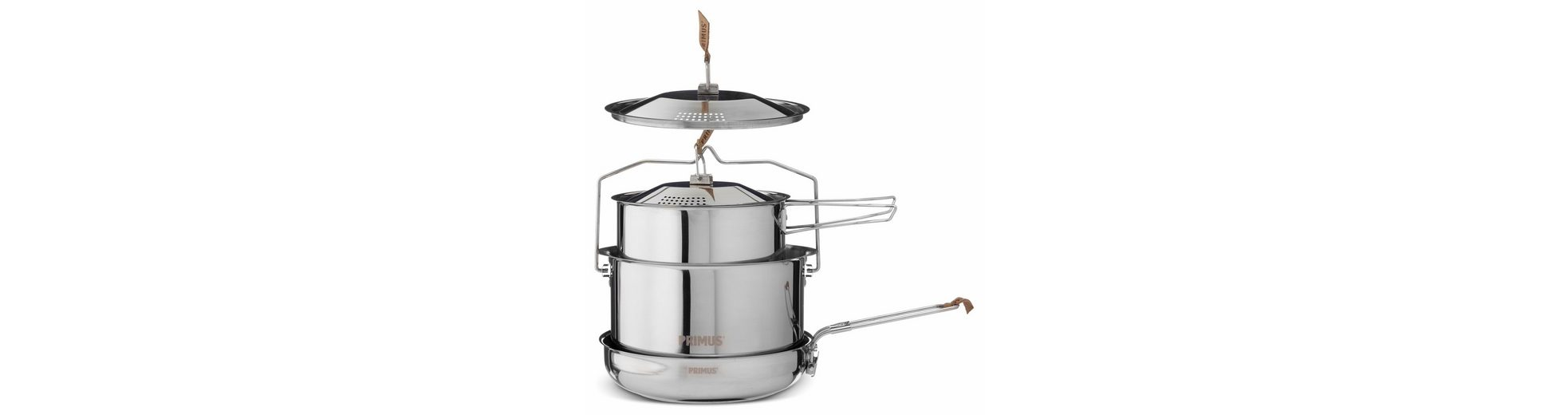 Primus Camping-Geschirr »CampFire Cookset Stainless Steel Large«