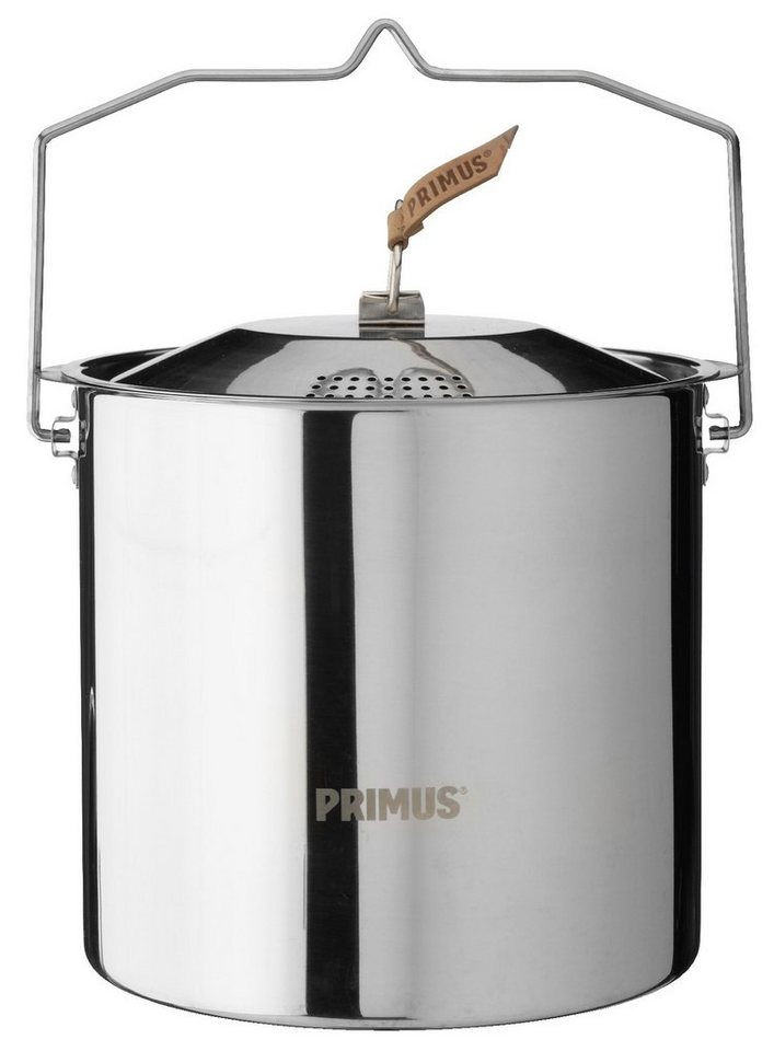 Primus Camping-Geschirr »CampFire Pot Stainless Steel 5L« in silber
