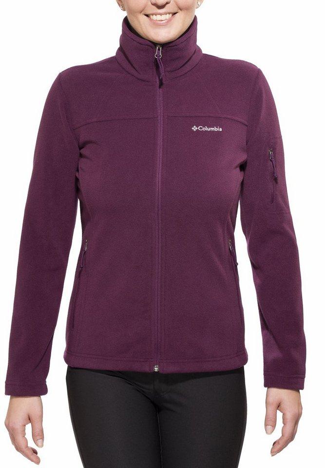 Columbia Outdoorjacke »Fast Trek II Jacket Women« in lila