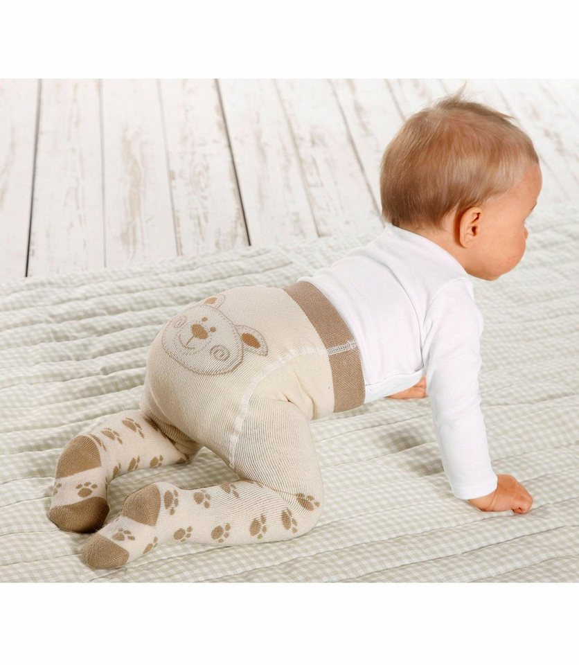 Jacob's Babymoden Thermostrumpfhose (Packung, 2 St.) in beige-ecru
