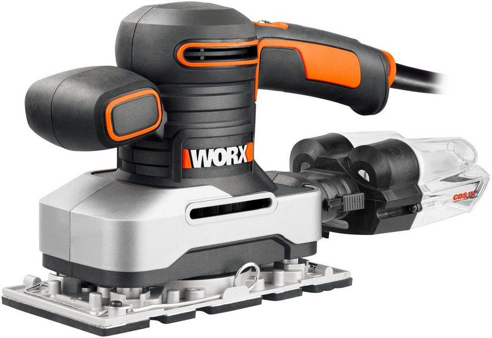 Worx Schwingschleifer »WX642« in schwarz