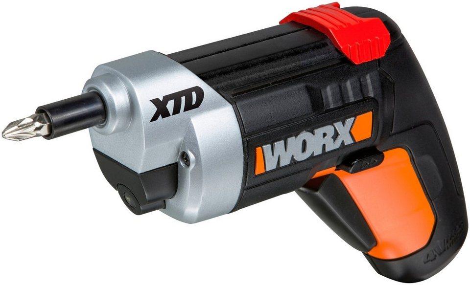 Worx Akkuschrauber »XTD™ Xtended Reach Driver 4V WX252« in schwarz