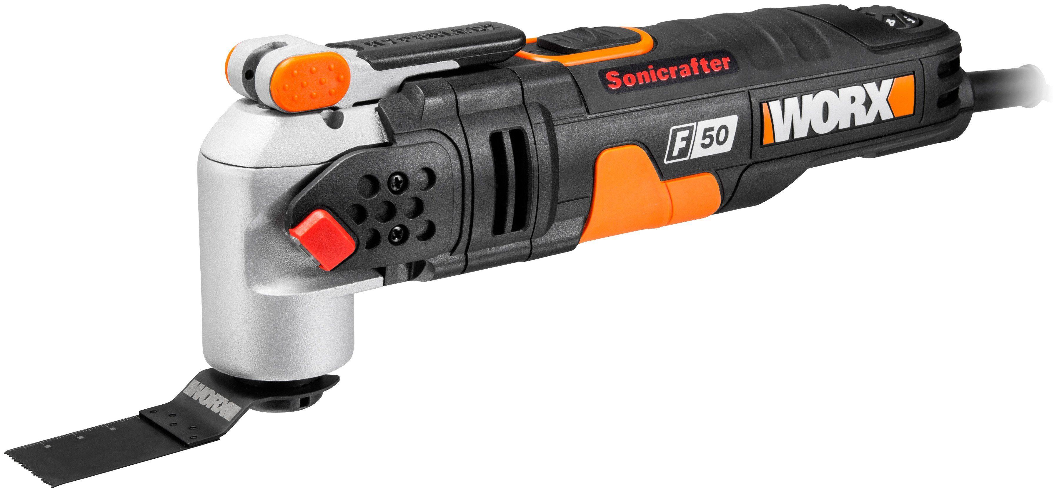 Worx Multifunktionswerkzeug »Sonicrafter F50 / WX681«