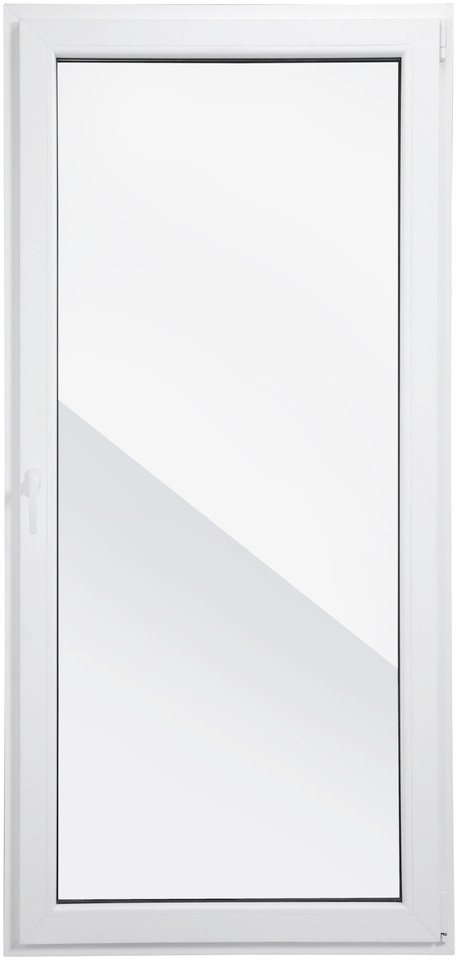 RORO Balkontür , BxH: 100x210 cm, weiß, in 2 Varianten in weiß