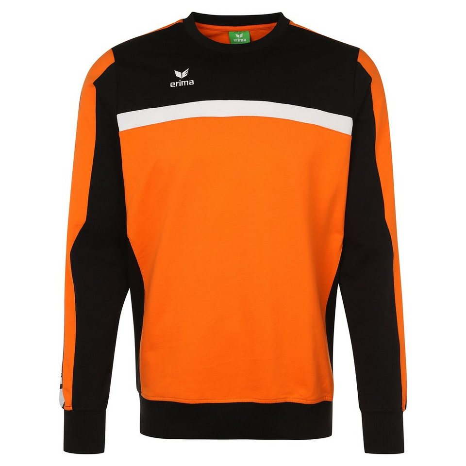 ERIMA 5-CUBES Sweatshirt Kinder in orange/schwarz/weiß